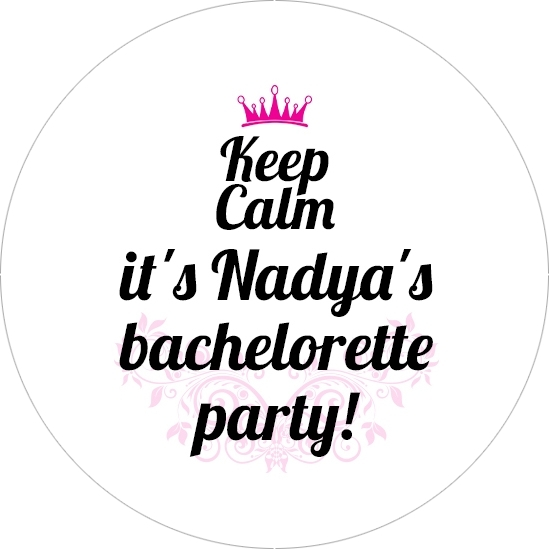 Nadya's bachelorette party